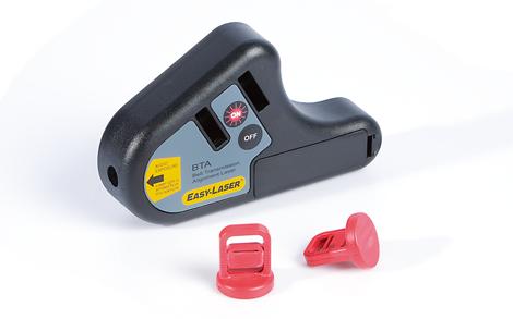 Alineación de poleas D90 Easy Laser