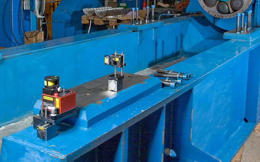 Aplicación de Medición Geométrica Easy-Laser® E920