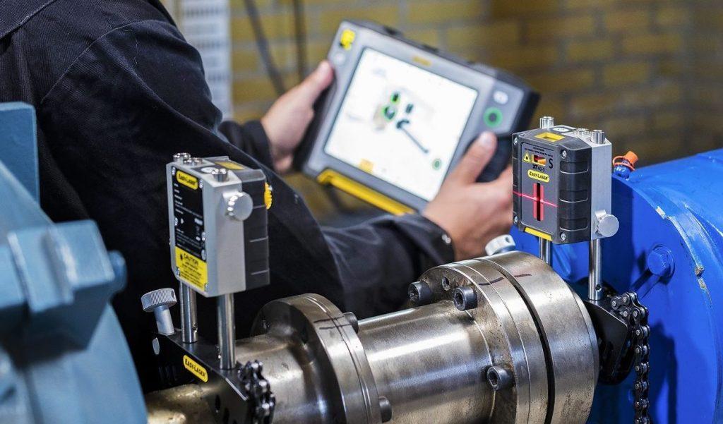 alineación para mantenimiento industrial